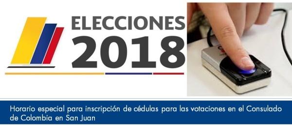 Horario especial para inscripción de cédulas para las votaciones en el Consulado  en San Juan