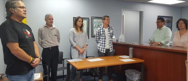 A las 4:00 p.m. finaliza el primer día de votaciones en el Consulado de Colombia