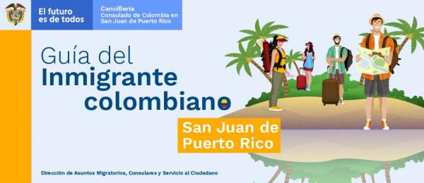 Guía del inmigrante colombiano en San Juan en 2019